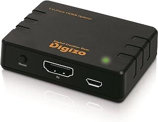 プリンストン デジ像4K60p/HDR対応HDMIスプリッター PHM-SP102S