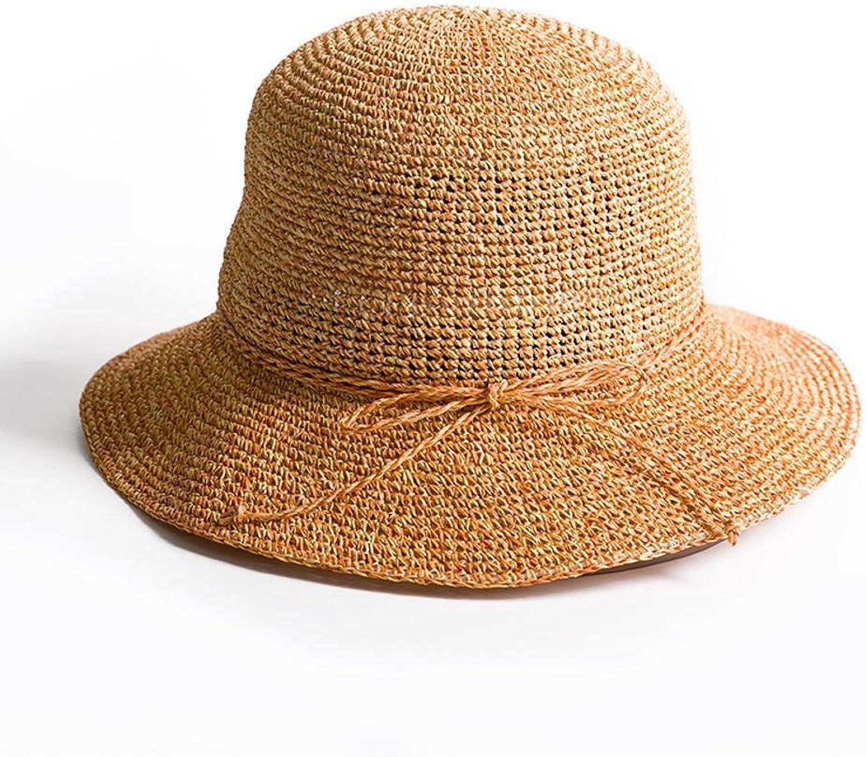 Dixinla Visor Cap Lady Straw Hat Sunscreen Sun hat Fisherman's hat