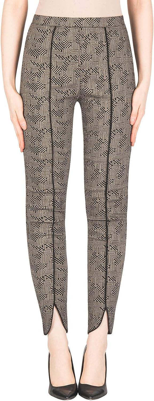 Joseph Ribkoff Women's Pant Style 183525 Black Taupe