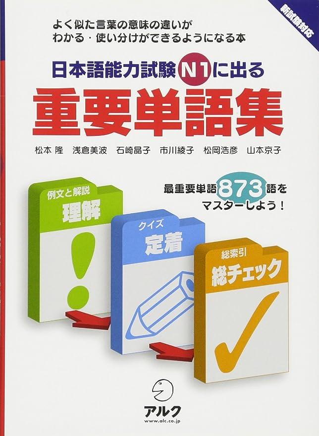 失礼な無視できるなに日本語能力試験N1に出る重要単語集