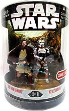 Hasbro Star Wars - Juego de 2 Unidades de 30 Aniversario de la Orden 66 OBI, WAN y AT-RT Driver