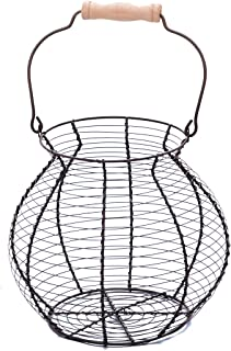 Wire Egg Basket - Vintage Style - by Trademark Innovations