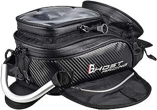 PinShang Motorcycle Tank Bag Waterproof Motorbike Saddle Bag Single Shoulder Bag Backpack