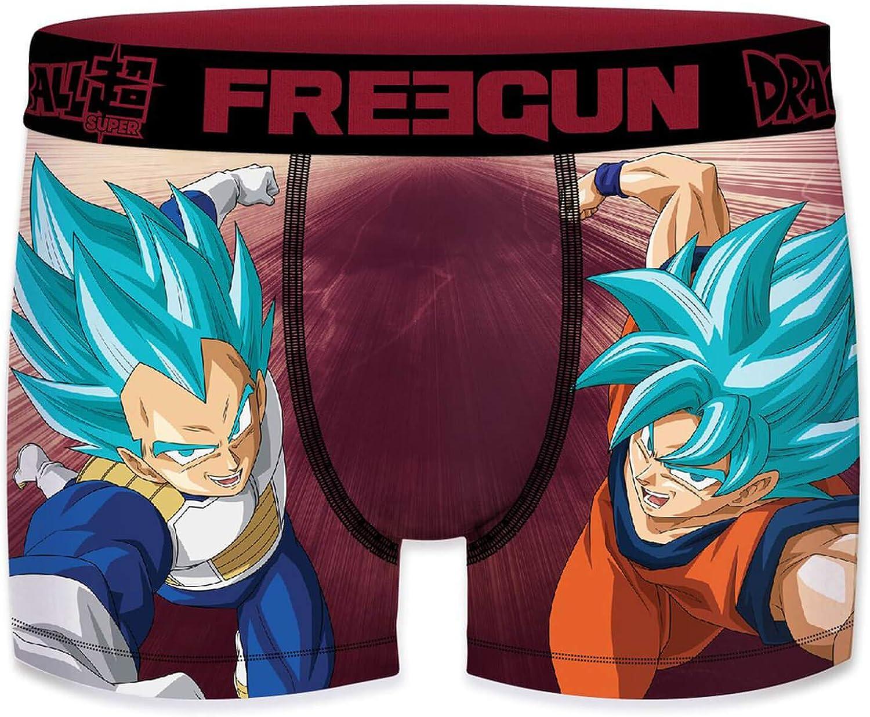 FREEGUN Boxer Enfant Dragon Ball Super