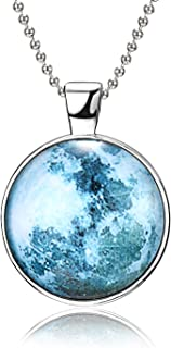 Best glow in the dark moon necklace Reviews