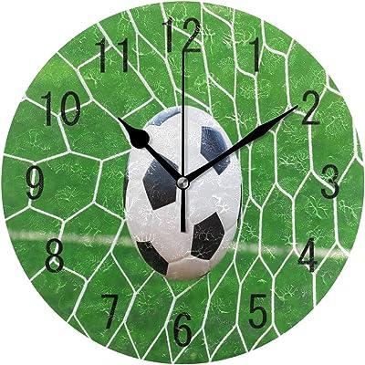 Reloj de Pared Decorativo con diseño de Estadio de fútbol de ...