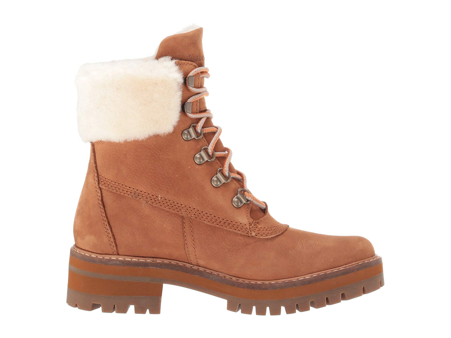 Timberland Shearling Valley Authentic Courmayeur Lining Nubuck 6