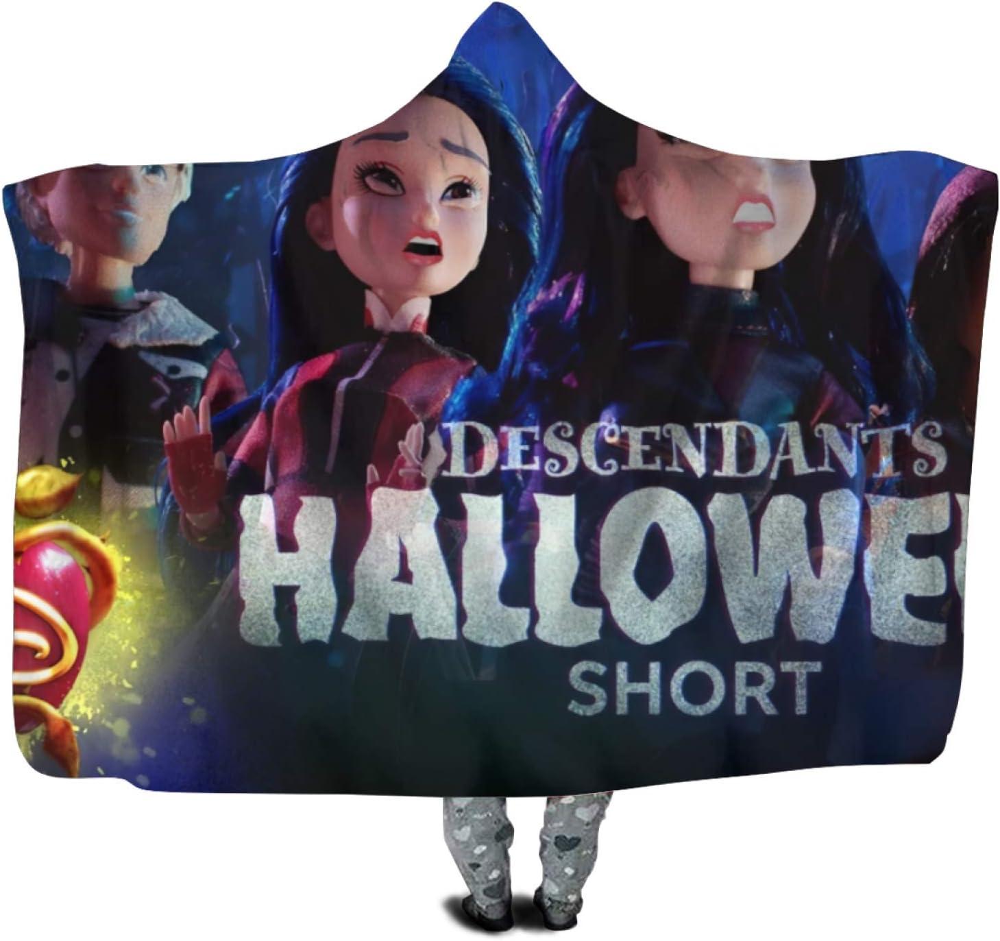 Descendants Ranking TOP12 Popular product Hooded Blanket Kids Warm Polyester Pe Durable