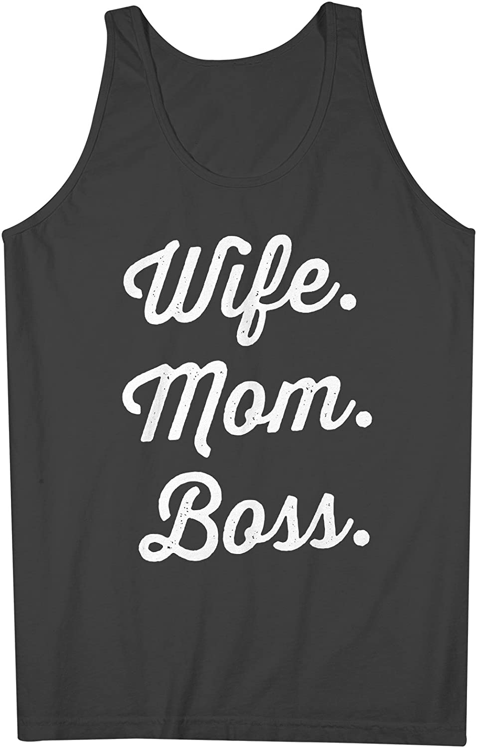 Wife Mom Boss 男性用 Tank Top Sleeveless Shirt