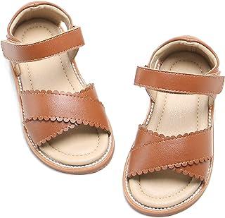 Felix & Flora Girls Shoes Soft Rubber Princess Flat Shoes Summer Baby Girl Sandals.