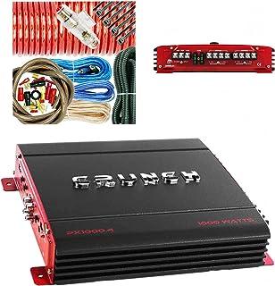 Crunch PX1000.4 1000W POWERX Series 4-Channel Bridgeable Car Audio Amplifier Class A/B/Variable Voltage: 11-15VDC / Signal... photo