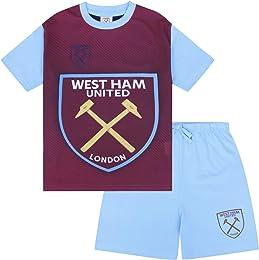 officiel - Ensemble de pyjama court thème football