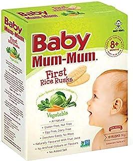 Baby Mum-Mum Vegetable Flavour First Rice Rusks, 36 g