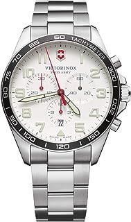 Victorinox - Hombre FieldForce Chronograph - Reloj de Acero Inoxidable de Cuarzo analógico de fabricación Suiza 241856