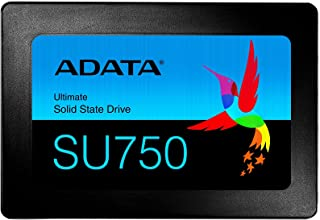ADATA 2.5インチ 内蔵SSD 512GB SU750シリーズ 3D NAND TLC 搭載 SMIコントローラー 7mm ASU750SS-512GT-C