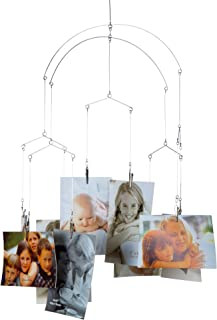 CTG Truu Design Collection, Metal Hanging Photo Clips 10 x 9.5 inches Silver