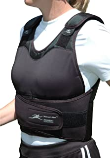 Ironwear Women's Vest (Adjustable Height) Contoured 1 to 21 Lb. Weighted Vest Supplied at 21lbs