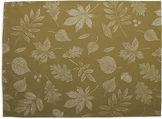 Sur La Table Fall Leaf Jacquard Kitchen Towel, 27.534; x 19.534;