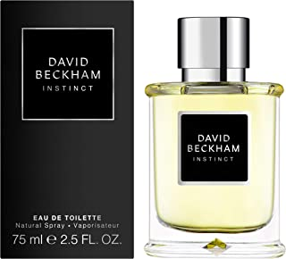 David Beckham Instinct Eau de Toilette Spray for Men, 75ml