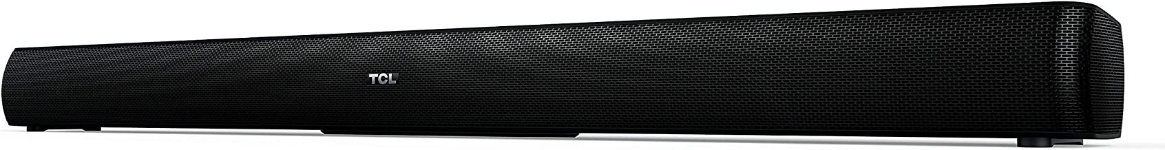 "TCL Alto 5 2.0 Channel Home Theater Sound Bar - Ts5000, 32"", Black"