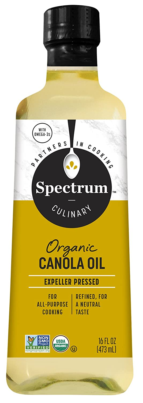 Spectrum Culinary Organic Canola 16 Oil Lowest price challenge Rare oz. fl.