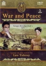 War and Peace Sergei Bondarchuk's 5 DVD NTSC (Language(s): Russian, English, French . Subtitles: Russian, English, French, German, Spanish, Portuguese, Italian, Dutch, Swedish, Arabic, Hebrew, Chines
