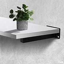 Roestvrijstalen verborgen plankbeugel, heavy-duty vierkante metalen driehoeksbeugel, verborgen verborgen muur montage hard...