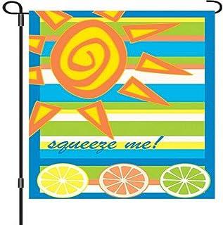 Premier Kites 51637 Garden Brilliance Flag, Squeeze Me, 12 by 18-Inch