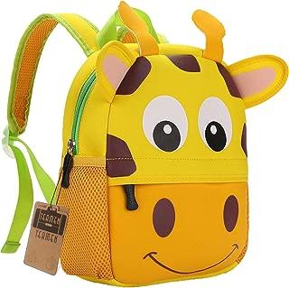 Mochila para niños, Animal Mochila Escolar TEAMEN® Toddler Kids Mochila Escolar para niños pequeños, Mochila para 2-5 años (Jirafa)