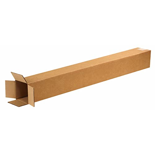 """3/"""" x 3/"""" x 18/""""  White Square Shipping Mailer Mailing Storage Boxes Tubes 50 Pc"""