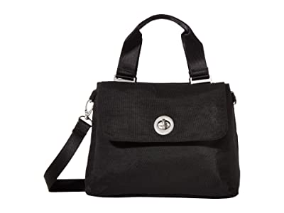 Baggallini International Antwerp Satchel (Black) Bags