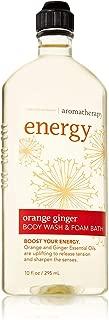Bath & Body Works Aromatherapy Energy - Orange + Ginger Body Wash & Foam Bath, 10 Fl Oz