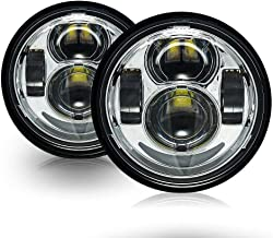/3//4/5.75/redondas daymaker LED Proyecci/ón de Faro para Harley Davidson Motocicleta cromo followhe Art 5/
