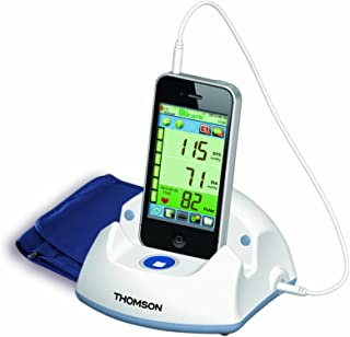 Thomson TKP7710 - Tensiómetro conectado para smartphones y tabletas (compatible con IOS y Android)