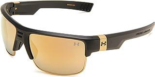 نظارات شمسية كوماندر بيضاوية، عدسة أسود/ رمادي، مقاس واحد