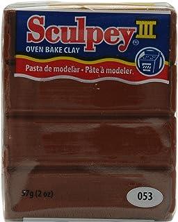 Sculpey III Polymer Clay 2 Ounce Chocolate