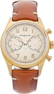 Montblanc - 1858 Reloj de Hombre automático 42mm Correa de Cuero 118223
