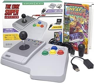 Emio The Edge Super Joystick for SNES Classic & PC, Multicolor