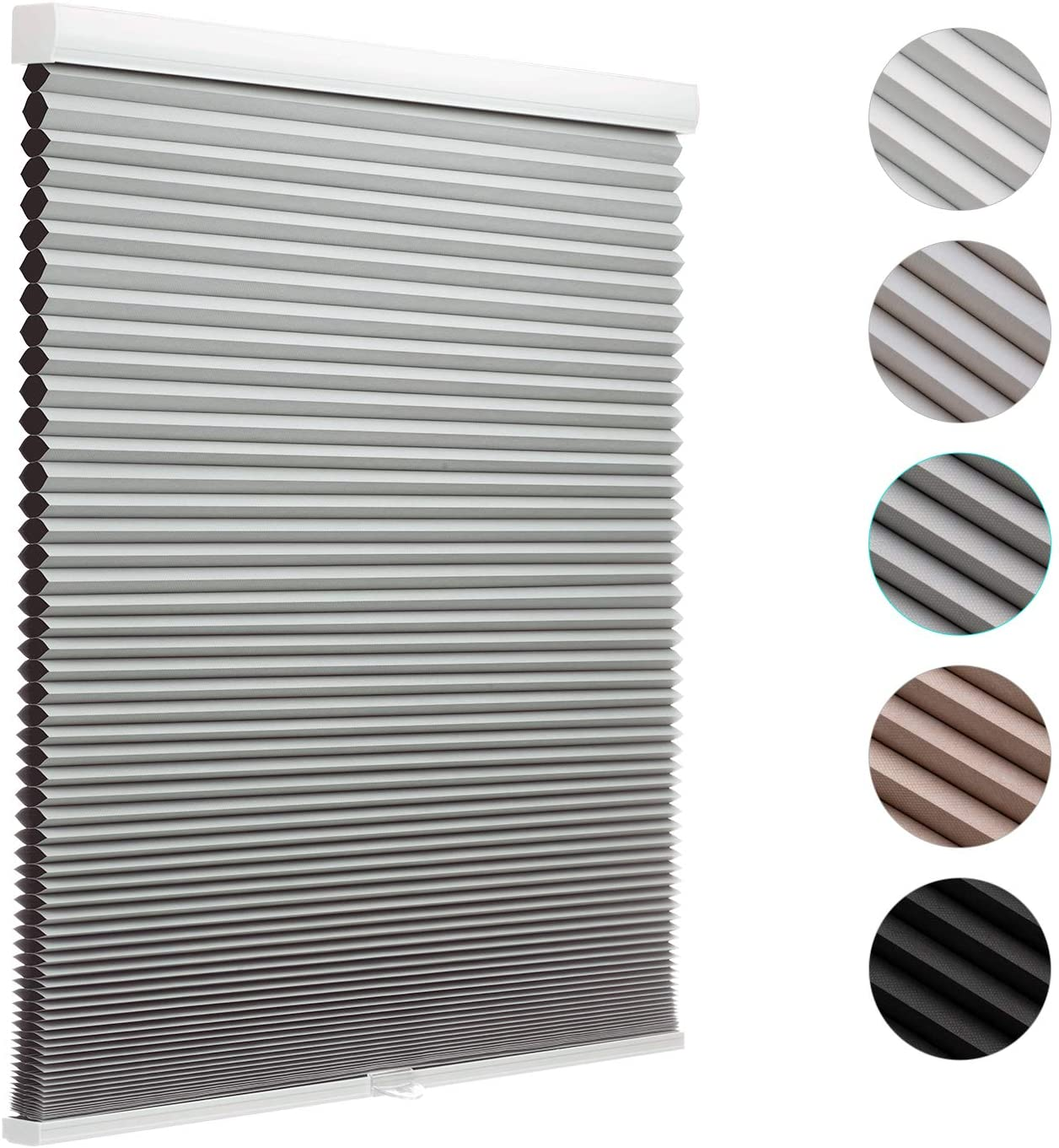 MYshade Cordless Special sale item Cellular Windows Shades for Blinds Blackout Win Columbus Mall