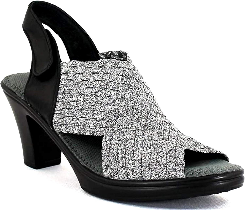 Bernie Mev Women's Beatrice Slingback Heeled Sandals