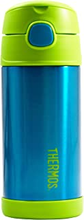 Thermos Funtainer 12 Ounce Bottle, Teal/Lime