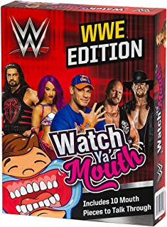 Watch Ya' Mouth WWE Edition Party Card Game