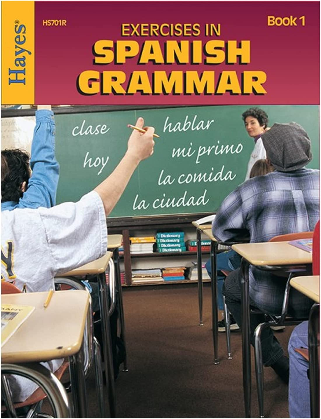 Amazon Com Hayes Exercises In Spanish Grammar Book 1 Office Products