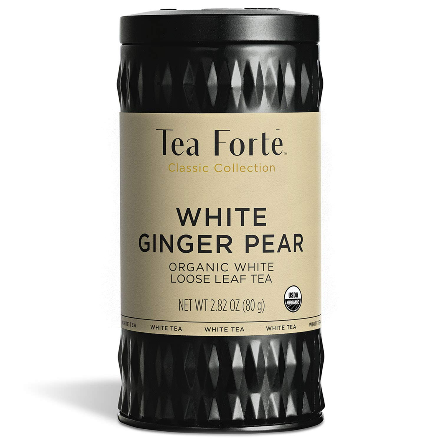 Tea Forté Genuine Free Shipping Organic White WHITE PEAR 2.82 Ounce Loo Cheap mail order shopping GINGER