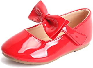 Bear Mall Girls' Shoes Girl's Ballerina Flat Shoes Mary Jane Dress Shoes (Little/Toddler Girls Shoes/Big Kids)