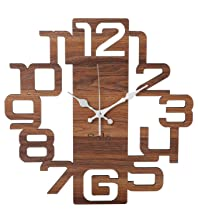 Solo Wooden Analogue Wall Clock