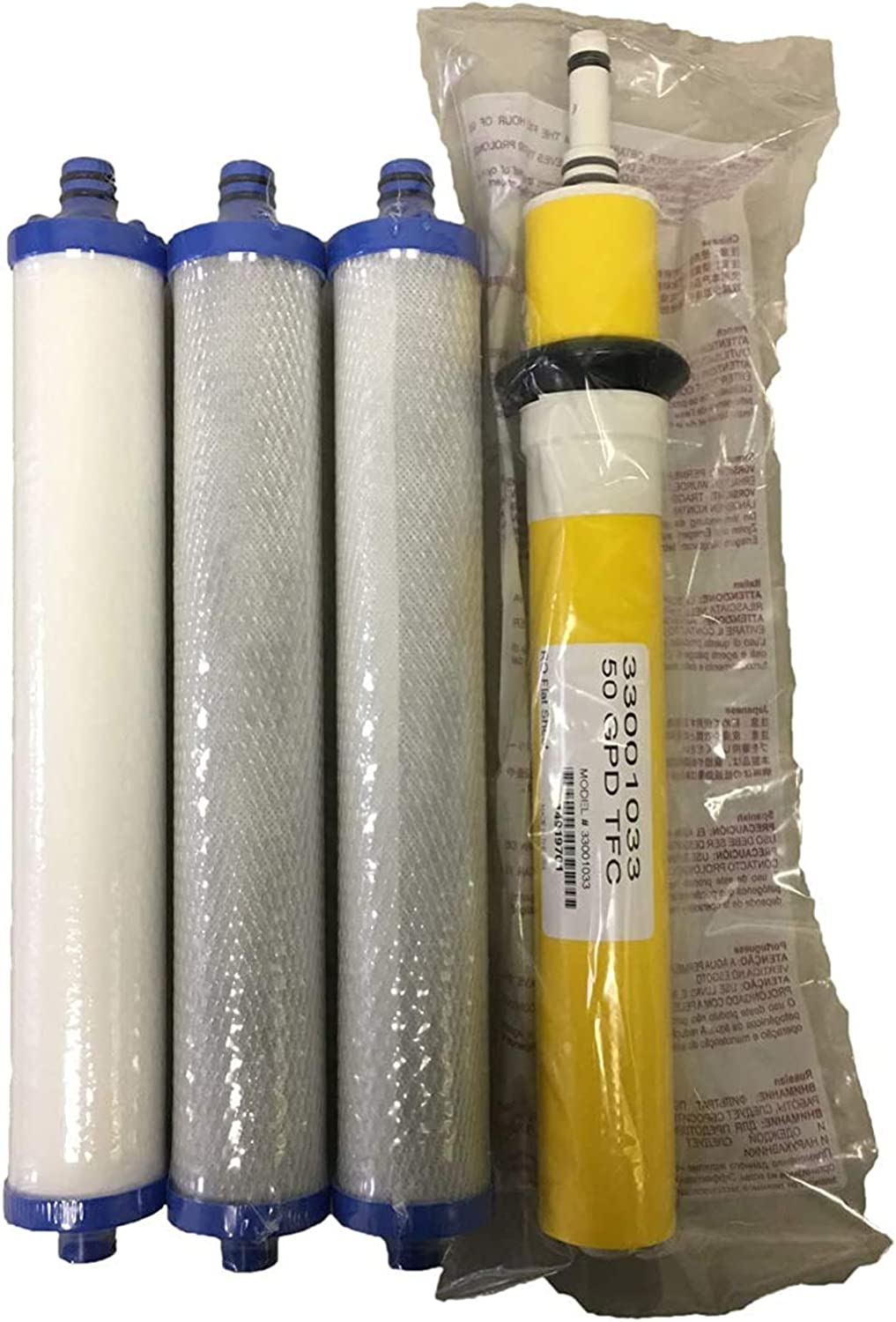 Hydrotech Dallas Mall Compatible 33001033 - Over item handling 50 Filters Membrane Set GPD with