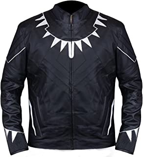 Famous Wakanda Panther Black Jacket Guaranteed◄