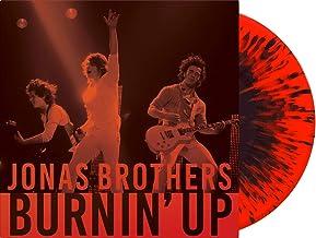 "Burnin� Up - Exclusive Jonas Brothers Vinyl Club Edition 10"" Red Black Splatter Vinyl LP"