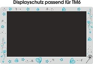 Displaybeschermfolie voor TM6 paardenbloem Tribal turquoise